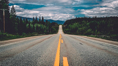A road less travelled (Kenzo Que) Tags: canada canon british columbia road roadtrip trip 1dx summer clouds wanderlust