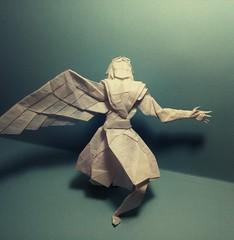 Icarus (GGIamBatman) Tags: origami papiroflexia icarus angel hojyo takashi