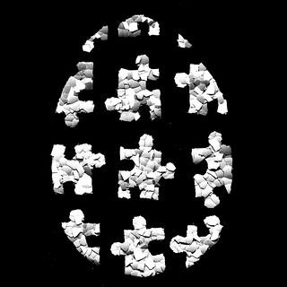 Puzzle camoufl-egg
