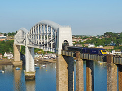 43030 Royal Albert Bridge (Marky7890) Tags: gwr 43030 class43 hst 1a35 royalalbertbridge railway saltash cornwall cornishmainline train