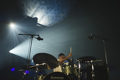 Shigeto (Caroline Lessire) Tags: shigeto drums ghostly electronic live music michigan ann arbor hip hop instrumental beat full circle lineage international high risk dark territory photography dour festival summer caroline lessire sigma canon