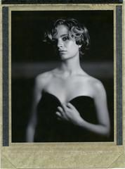 W. (denzzz) Tags: portrait polaroid polaroid54 expired blackwhite blackandwhite skancheli largeformat 4x5 wista45dx instantfilm filmphotography analogphotography fujinona 240mm