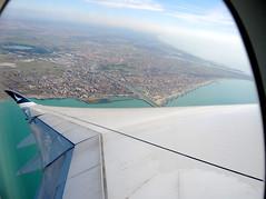 Goodbye Italy (MelindaChan ^..^) Tags: chanmelmel mel melinda melindachan italy 意大利 fly flight aeroplane cpa