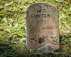 W G Gunter (augphoto) Tags: augphotoimagery gravemarker gravestone graveyard history old weathered cosby tennessee unitedstates