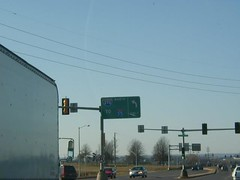 Lemay Ferry Rd at South County Centerway & I-270 North (1999) (poundsdwayne47) Tags: interstate270 us61 us67 lemayferryrd lindberghblvd mehlville missouri button copy signs highways 1999 stlouiscounty