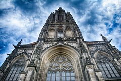 Münster 2018 (22_Juli)_0544b (inextremo96) Tags: münster botanischergarten muenster westfalen widertäufer lamberti aegidien dom kirche church germany mittelalter darkage kiepenkerl
