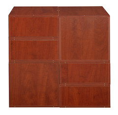 PC2F4HWC-1F2HBK_3 (RegencyOfficeFurniture) Tags: niche regency cubo cubestorage modularstorage modular connecting connectable adaptable custom customizable cube square storageset closet organizer organization furniture cubes expandable home melamine laminate woodtone cherry warmcherry pc2f4hpk pc1211wc black blackstorage blackbins blacktotes htotebk