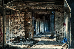 The Factor(Y) remains, Part I (Constantinos_A) Tags: sony alpha a6300 drapetsona machine athens fertilizing factory rust iron pressure old room abandoned industrial decay