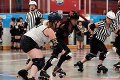 20180721_ToRD_171 (tallone6ft5us) Tags: xpro2 tord torontorollerderby rollerderby derby tedreevearena vipers hammercity toronto on canada can
