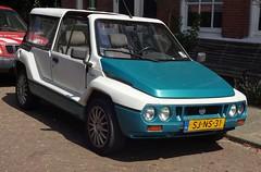 1995 Mega Tjaffer 1.1i Cabrio (Skitmeister) Tags: sjns31 carspot nederland skitmeister car auto pkw voiture