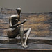 Henry Moore, Seated Figure Against Curved Wall, 1956-57, cast 1959