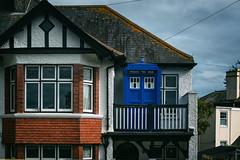 Police box (John Willoughby) Tags: falmouth england unitedkingdom gb blue doctorwho