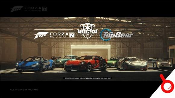 《極限競速7》推出「TopGear」車輛包宣傳片