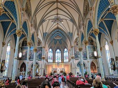 Cathedral of St. John the Baptist - Savannah, Georgia (fisherbray) Tags: fisherbray usa unitedstates georgia chathamcounty savannah google pixel2 historicdistrict nationalregisterofhistoricplaces nrhp 66000277 cathedralofstjohnthebaptist catholic cathedral dom church kirche