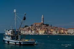 Rovinj, Croatia. (Summer Road Studios) Tags: 2018 croatia d600 europe nikon24120 rovinj travel outdoor sea water boat