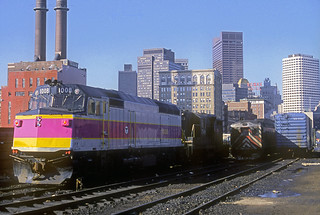 MBTA F40PH 1008
