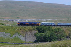 _MG_6418 (Yorkshire Pics) Tags: 0507 05072018 5thjuly 5thjuly2018 dales yorkshiredales ribbleheadviaduct ribblehead railways bridge railwaybridge gbrf freighttrain
