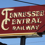 Tennessee Central Railway neon sign thumbnail