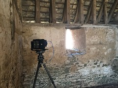 Linhof on Location - Great Coxwell Barn (CactusD) Tags: linhof technikardan iphone iphoneography 6plus iphone6plus setup light tks45 5x4 4x5 largeformat large format movements film detail details texture textures uk greatbritain great britain unitedkingdom united kingdom england oxfordshire greatcoxwellbarn coxwell barn arca arcaswiss gitzo cube nikkorw210mmf56 provia fujichrome fujifilm