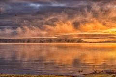 Rotorua Sunrise Mist 2 (Robert Borden) Tags: island rotorua newzealand southernhemisphere northisland fuji fujifilm fujifilmxt2 50mm 50mmlens nature landscapephotography landscape mist detail goodlight sunrise