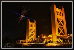 Fireworks_0740 (bjarne.winkler) Tags: pre 4th july independence day river cats fireworks over tower bridge sacramento