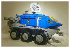 Neo classic space Exploration Command rover. (aeturnus_79) Tags: lego space neoclassicspace rover exploration