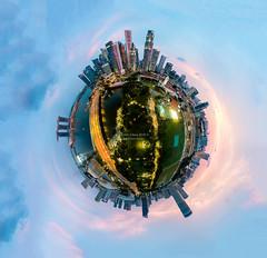 Esplanade Park Sunset (Jansen Chua) Tags: aerialphotography cbd centralbusinessdistrict cityhall cityscape djimavicpro esplanade jansenchuaphotography littleplanet marinabayfinancialcentre marinabaysands mbfc padang panorama singaporeriver sunset ura urbanredevelopmentauthority victoriatheatre