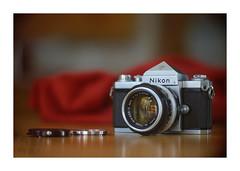 Nikon F (VanveenJF) Tags: kollmorgen sony nikon f vintage film 35mm nikkor alberta lens usa a7ll red bokeh cinelux soft nice canada legacy