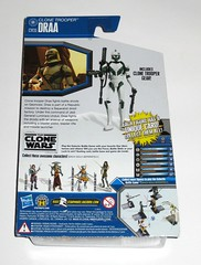 clone trooper draa cw35 star wars the clone wars blue black card packaging basic action figure figures 2010 hasbro mosc b (tjparkside) Tags: clone trooper draa cw35 cw 35 star wars blue black card packaging galactic battle game display base stand collector basic action figure figures hasbro 2010 gear blaster blasters pistols pistol rifle backpack rocket missile launcher cannon geonosis republic seperatist droid factory jedi luminara unduli boba fett embo undead geonosian quinlan vos