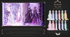 Neo Senshi Gown/Lingerie @ The Crystal Heart (Violent Seduction) Tags: sailor moon violent seduction second life mahou shoujo crystal heart