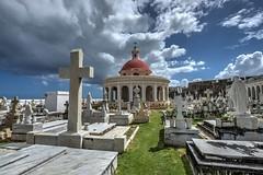San Juan Cemetery (Brook-Ward) Tags: hdr brook ward old san juan puerto rico cemtery tomestone grave temple caribbean travel vacation holiday