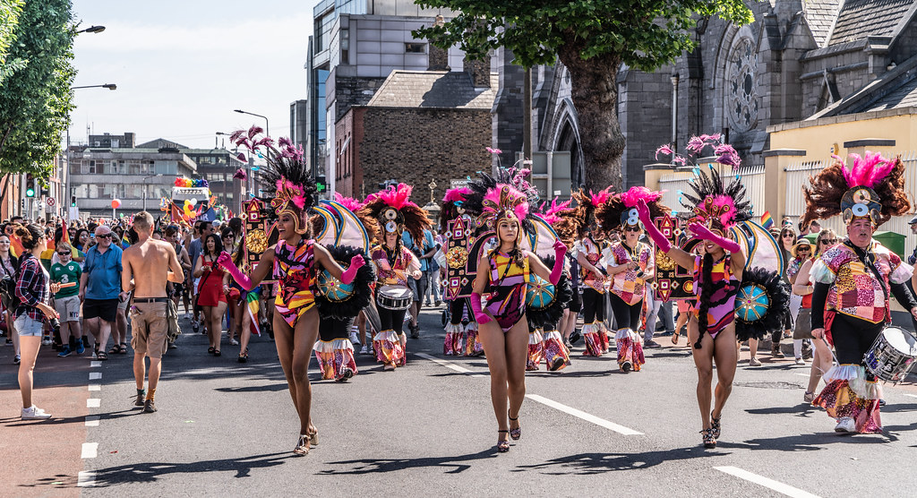 ABOUT SIXTY THOUSAND TOOK PART IN THE DUBLIN LGBTI+ PARADE TODAY[ SATURDAY 30 JUNE 2018] X-100195