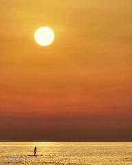 Grande tramonto (ioriogiovanni10) Tags: buonaestate luglio tramontorosso jovyx74 seguimi magicmoment momentomagico supaltramonto sole sea sun rosso estate été mare mer fotografo fregene photo photographer leica lumix tramonto sup sunset