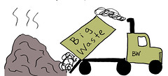 147 big waste truck copy (Sustainable Economies Law Center) Tags: compost soil crops dirt california janelleorsi