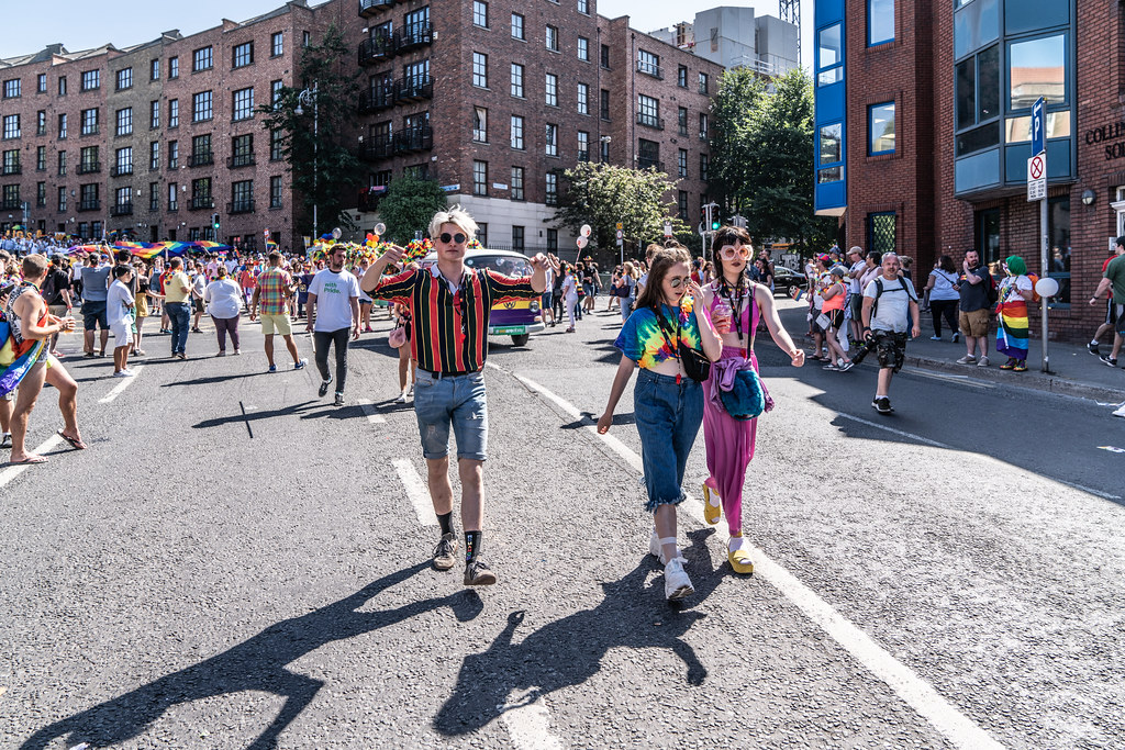 ABOUT SIXTY THOUSAND TOOK PART IN THE DUBLIN LGBTI+ PARADE TODAY[ SATURDAY 30 JUNE 2018] X-100267