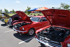 Car Show (Andrew Penney Photography) Tags: mooreoklahoma carshow cars chevy ford honda chrylser motorcycle buick dodge gmc pos bike naked