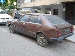 1981 Datsun Cherry (Alpus) Tags: datsun cherry rare car classic retro 2017 june dented autoshite lebanon beirut