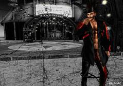 Ringmaster (✪ Leal Blake ✪) Tags: secondlife circus ringmaster dark composite punk