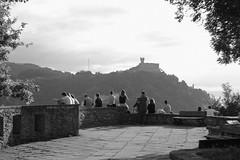 san sebastian (lenkadrbalova) Tags: sansebastian spain siluettes black white nikon landscape