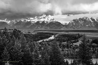 Snake River Overlook of the Tetons