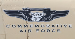 CAF Ghost Squadron Logo (Jay Costello) Tags: tuscon arizona tusconaz pimaairandspacemuseum military airplane caf commemorativeairforce logo wings