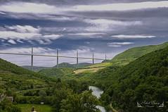 Aveyron, Occitanie ( photopade (Nikonist)) Tags: millau viaduc paysage nikond300 nikon architecture apple affinityphoto imac aveyron occitanie france tarn