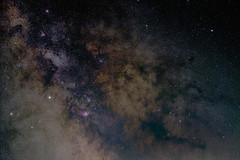 Milky Way in Sagittarius and Ophiuchus (bencbright) Tags: milkyway sagittarius ophiuchus fujifilm xf1855mmf284 longexposure ioptron skytracker astrophoto night snakenebula pipenebula