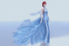 (IMAGE) -AZUL- Elita (mami_jewell) Tags: azul formal gown dress lace sheer flexi mesh hautecouture release new sl secondlife virtual game avatar fashion misssl contest iceland elita