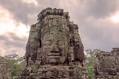Bayon (Tony_Brasier) Tags: sky rocks face cambodia lovely location