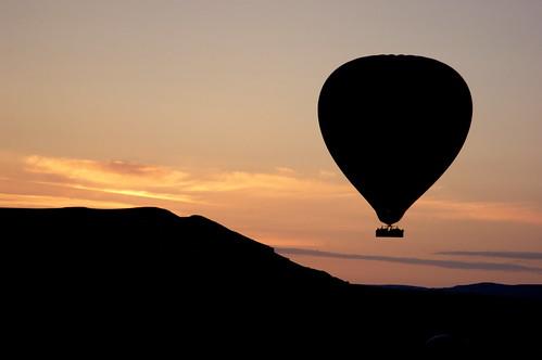 Balloon sunrise I