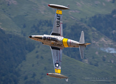 "Lockheed T-33 ""AceMaker"" (Fly to Water) Tags: acemaker t33 jet trainer military aircraft aviation airplane plane ft452 452 n133hh greg gregory wired colyer flight professional photography armed forces usa united states ace maker"