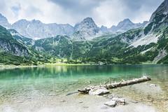 Seebensee (Uli - www.auf-den-berg.de) Tags: berge mountains wandern hiking outdoors tirol tyrol zugspitzarena miemingerkette alpen alps