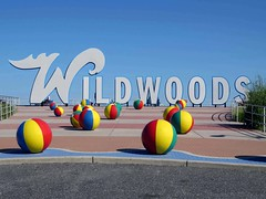 Wildwoods (Multielvi) Tags: wildwood new jersey nj shore boardwalk sign