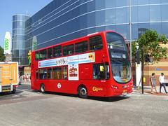 GAL WVL307 - LX59CYG - BEXLEYHEATH BROADWAY - SUN 8TH JULY 2018 (Bexleybus) Tags: goahead go ahead london bexleyheath broadway shopping centre asda kent wrightbus gemini volvo b9 tfl route 486 wvl307 lx59cyg